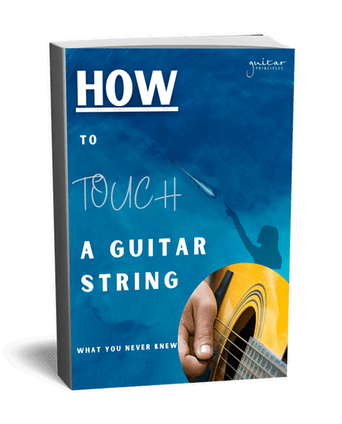 how to touch a guitar string cover