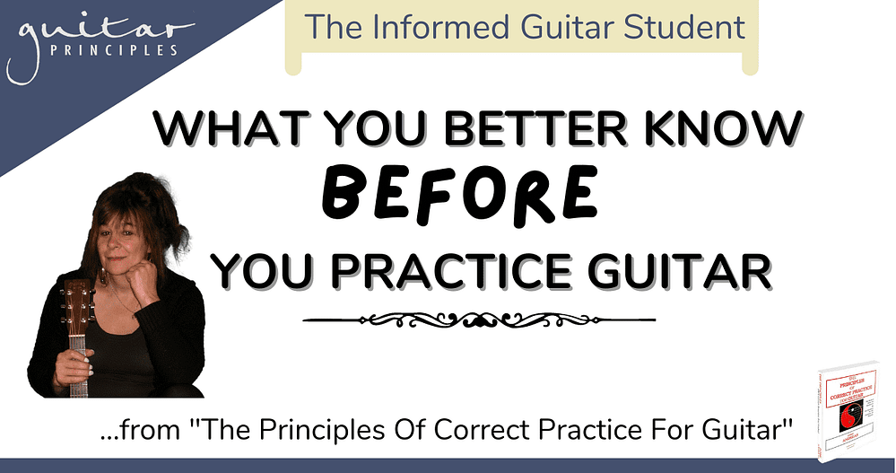 what you better know before you practice guitar